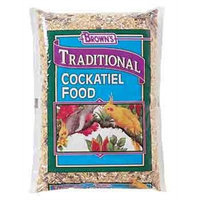Fm Browns Sons Inc F.M. Brown's Natural Cockatiel Food, 50-Pound