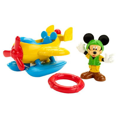 Mickey Mouse Clubhouse Single Vehicle Pack Save the Day Rescue Flyer - MATTEL, INC.