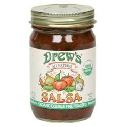 Drews All Natural 29916 Organic Double Roasted Salsa