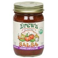 Drews All Natural 29915 Organic Chipotle Lime Salsa