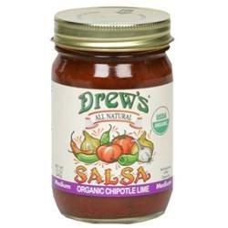 Drews All Natural 29915 Organic Chipotle Lime Salsa
