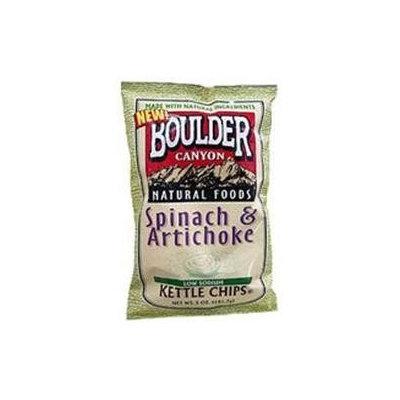 Boulder Canyon Potato Chips Spinach and Artichoke - 5 oz