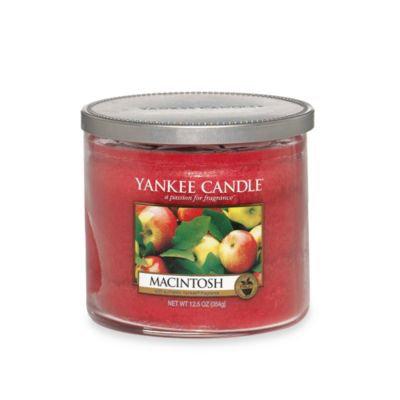 Yankee Candle Housewarmer Macintosh Medium Lidded Candle Tumbler