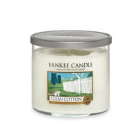 Yankee Candle Housewarmer Clean Cotton Medium Lidded Candle Tumbler