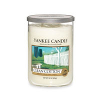 Yankee Candle Housewarmer Clean Cotton Large Lidded Candle Tumbler