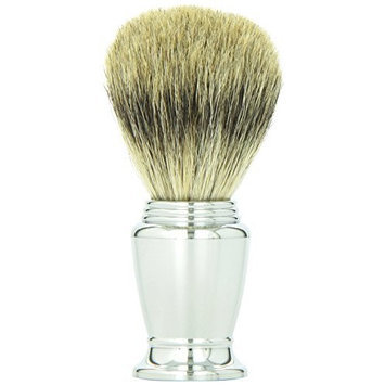 SimplyBeautiful 100% Pure Badger Brush with Chrome Handle - *Special Price*