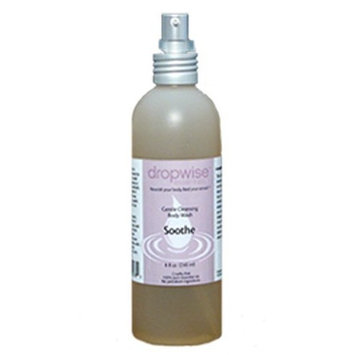 Dropwise Essentials Aromatherapy Liquid Castile Body Wash - Organic Ingredients & Refresh Aromatherapy Blend