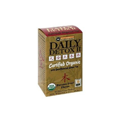 Rooney Cv. Inc Wellements Rooney CV Daily Detox II All Natural Decaffeinated Tea Passion Fruit - 30 Sachet