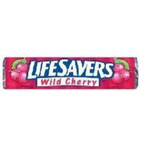 Life Savers Lifesavers Hard Candy Wild Cherry(Case of 40)