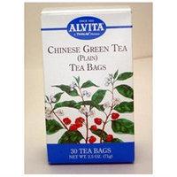 Twinlabs Chinese Green Tea 30 Bags by Alvita Teas