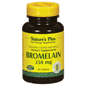 tures Plus Nature's Plus Bromelain 250 MG - 90 Tablets - Enzymes