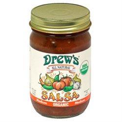 Drews All Natural 19918 Organic Medium Salsa