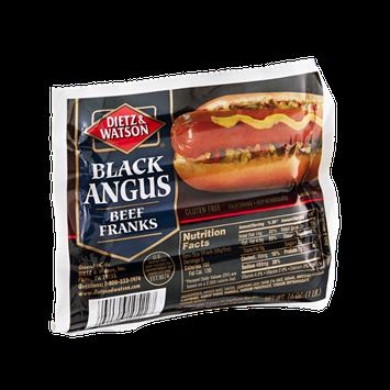 Dietz & Watson Franks Beef Black Angus - 8 CT