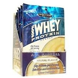 Country Life Biochem Sports 100% Whey Protein Packet - Natural Flavor 10 Packs