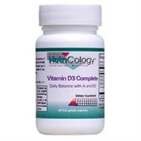 NutriCology Vitamin D3 Complete - 60 Gelatin Capsules