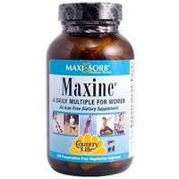 Maxi-sorb Maxine 120 Vcap By Country Life Vitamins (1 Each)