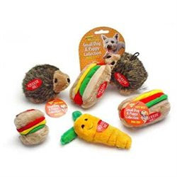 BOODA Aspen Pets Small Hedgehog and Hotdog Dog and Puppy Toy