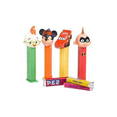 PEZ Disney, Best of Pixar, 0.58-Ounce Assorted Candy Dispensers (Pack of 12)