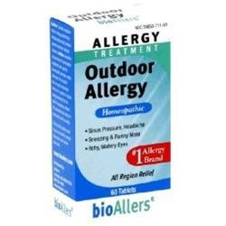 Bio-Allers 82206 1x60 Tablets Outdoor Allergy