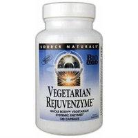 Source Naturals - Vegetarian Rejuvenzyme - 120 Capsules