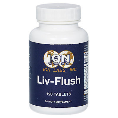 Ion Labs Ion-labs The Original Liv-Flush 120 Tablets
