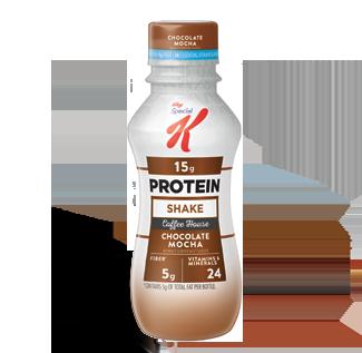 Special K® Kellogg Coffee House Chocolate Mocha Protein Breakfast Shake