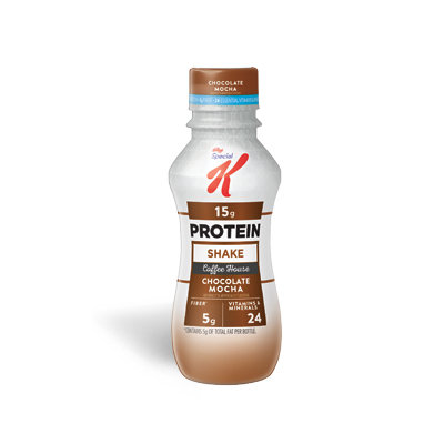 Special K® Kellogg Coffee House Chocolate Mocha Protein Breakfast Shake