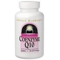 Source Naturals Coenzyme Q10 - 30 mg - 30 Softgels