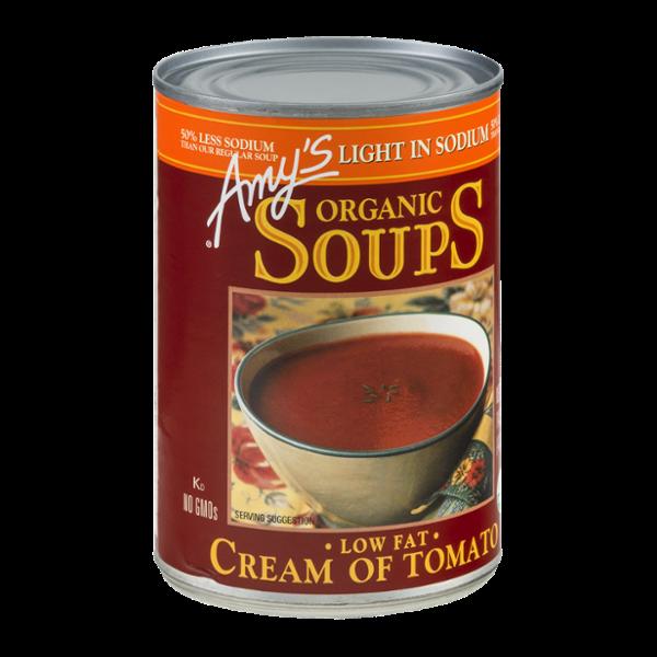 Amy's Organic Soups Low Fat Cream Of Tomato
