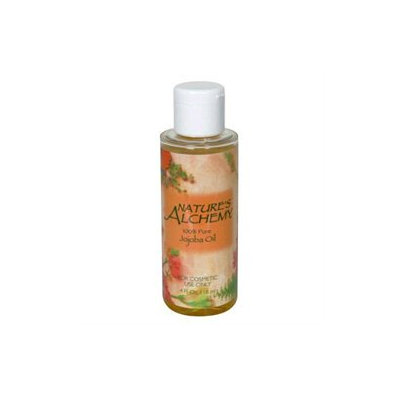 tures Alchemy Carrier Oil Jojoba, 4 oz, Nature's Alchemy