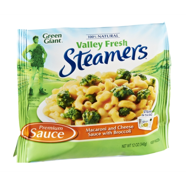 Green Giant Valley Fresh Steamers Macoroni and Cheese Sauce with Broccoli