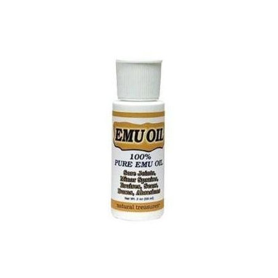 BNG Enterprises - Natural Treasures 100 Pure Emu Oil - 2 oz.