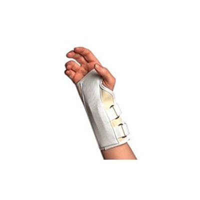 Sportaid Wrist Brace Sportaid, Wrist Brace Cock-up Splint, Right, Beige, Large - 1 ea