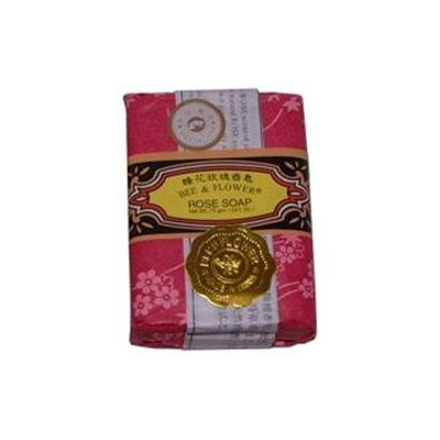 Bee & Flower Soaps Soap-Rose - Bee and Flower Soaps - 4.4 oz - Bar