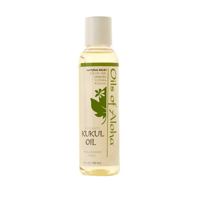 Oils Of Aloha Kukui Oil Unscented - 4oz.