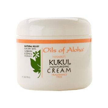 Oils Of Aloha Kukui Cream Unscented - 4 oz.