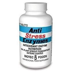 BioTec Foods - Anti Stress Enzymes, 100 tablets
