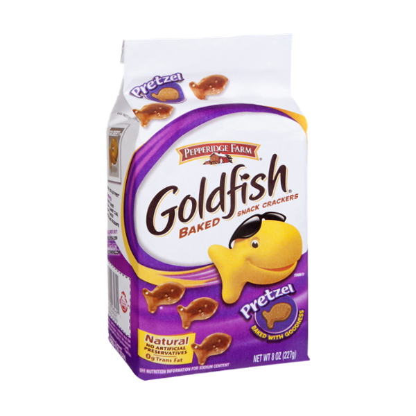Pepperidge Farm Goldfish Pretzel Baked Snack Crackers