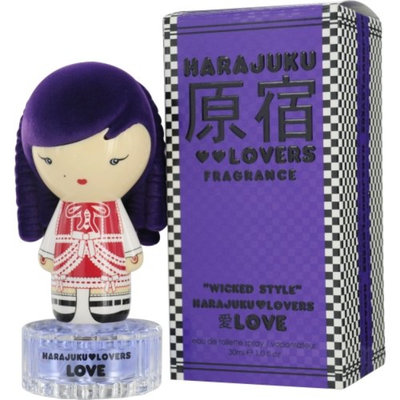 Harajuku Lovers Wicked Style Love 203056 Eau de Toilette Spray 1-ounce