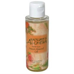 tures Alchemy Nature's Alchemy - 100 Pure Sweet Almond Oil - 4 oz.