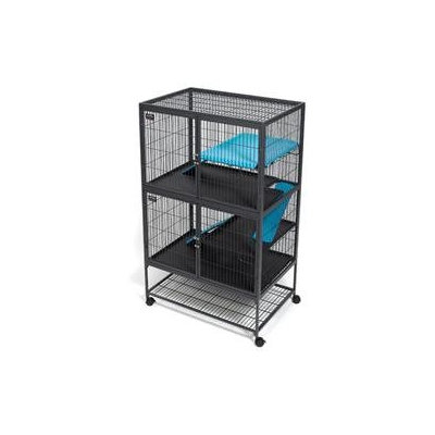 Midwest Metal Products Co. Ferret Nation Accessories Shelf Cover in Teal and Purple