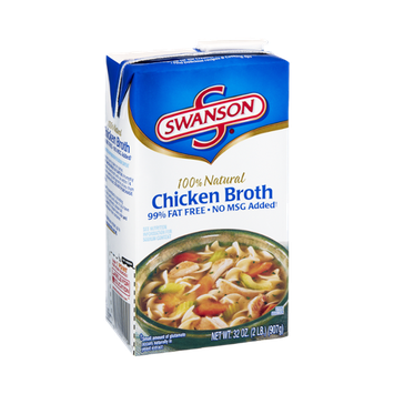 Swanson 100% Natural Chicken Broth