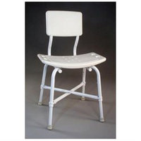 TFI Medical Extra High Blow Molded Bath Bench with Back