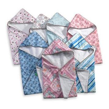 Caden LaneA Infant Hooded Geometric Print Towel