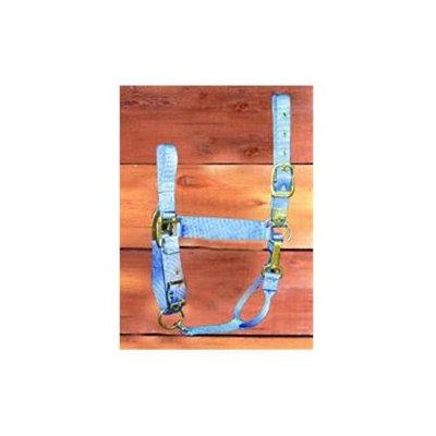 Hamilton Halter Company - Adjustable Chin Halter With Snap- Berry Average - 1DAS AVBY