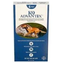 Advantix ADVX-BLUE-100-6 6 Month Supply of Advantix For Dogs Over 55 Lbs.