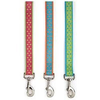 East Side Collection Polka Dot Lead - Parrot Green