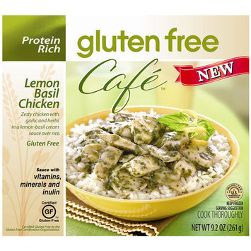 Gluten Free Cafe Lemon Basil Chicken, 9.2 oz