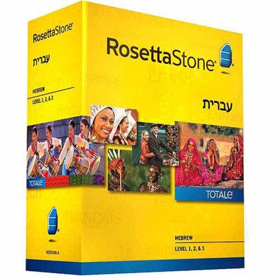 ROSETTA STONE Rosetta Stone Version 4 Hebrew Levels 1-3 Set (PC/Mac)