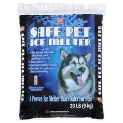 Milazzo Industries. 02020 Safe Pet Ice Melt 20 Lbs. Bag
